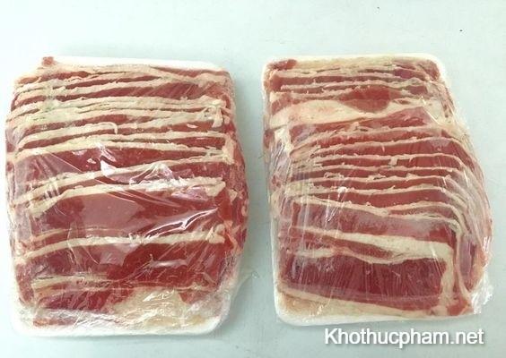 thịt đóng gói