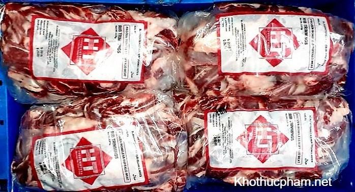 thịt đã đóng gói